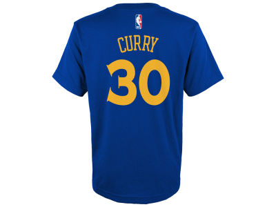Golden State Warriors Outerstuff NBA Youth Player Name and Number Icon T-shirt