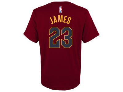 Cleveland Cavaliers Outerstuff NBA Youth Player Name and Number Icon T-shirt