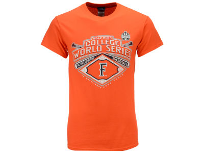Cal State Fullerton Titans 2017 College World Series Men's Diamond Team T-shirt