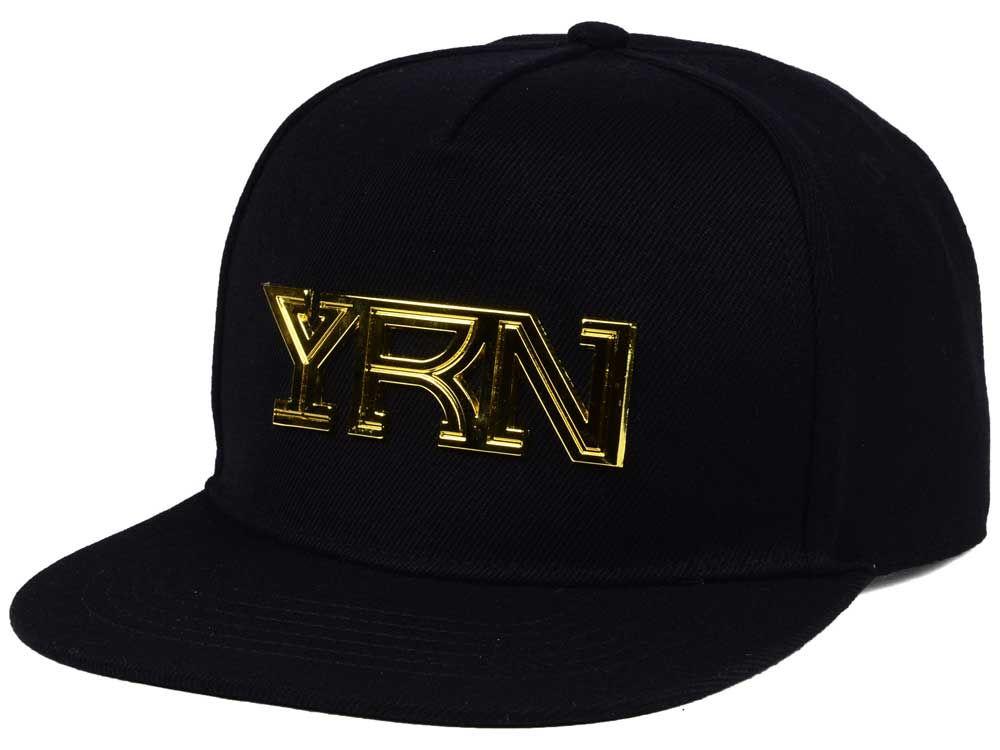 3824121fe58a8 YRN Metal Logo Snapback Cap