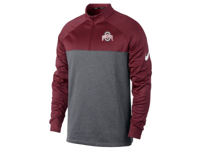 Ohio State Buckeyes NCAA Men's Therma 1/2 Zip Pullover