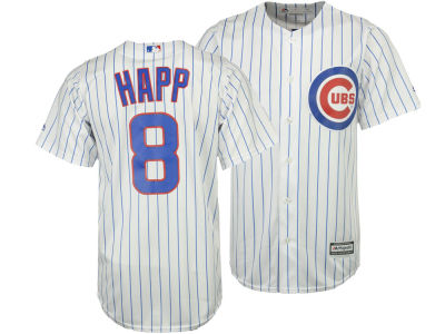 Chicago Cubs Ian Happ Majestic MLB Men's Player Replica Cool Base Jersey