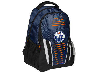 Edmonton Oilers Stripe Franchise Backpack