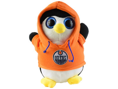 Edmonton Oilers Plush Hooded Penguin