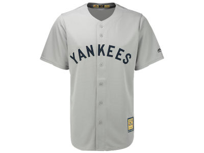 New York Yankees Majestic MLB Men's Cooperstown Blank Replica Cool Base Jersey