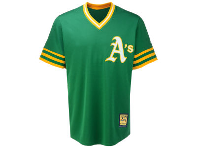 Oakland Athletics Majestic MLB Men's Cooperstown Blank Replica CB Jersey