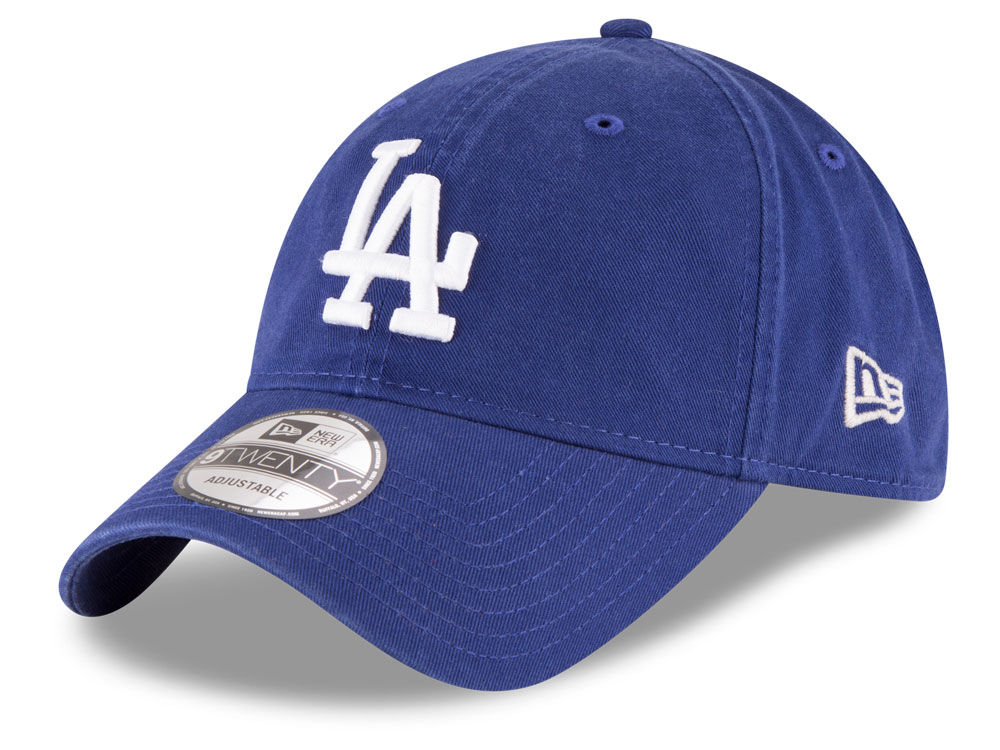 Los Angeles Dodgers New Era MLB On Field Replica 9TWENTY Cap dbfbbb8015c