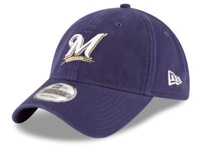 Milwaukee Brewers New Era MLB On Field Replica 9TWENTY Cap