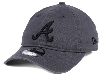 Atlanta Braves New Era MLB Graphite 9TWENTY Cap