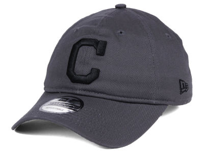 Cleveland Indians New Era MLB Graphite 9TWENTY Cap