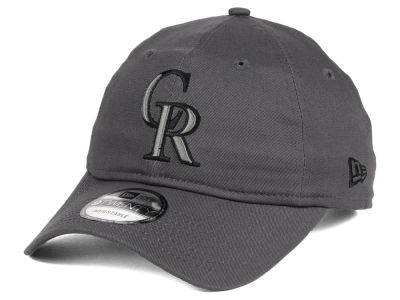 Colorado Rockies New Era MLB Graphite 9TWENTY Cap