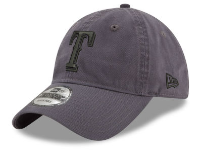 Texas Rangers New Era MLB Graphite 9TWENTY Cap