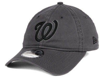 Washington Nationals New Era MLB Graphite 9TWENTY Cap