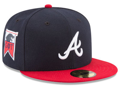 Atlanta Braves New Era MLB Game of Thrones 59FIFTY Cap
