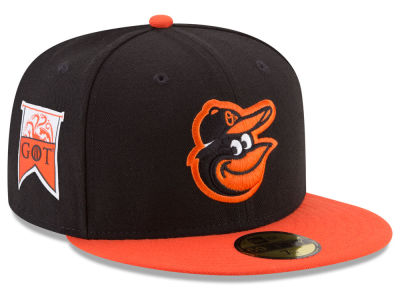 Baltimore Orioles New Era MLB Game of Thrones 59FIFTY Cap
