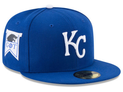 Kansas City Royals New Era MLB Game of Thrones 59FIFTY Cap