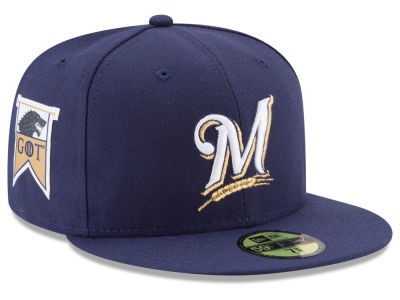 Milwaukee Brewers New Era MLB Game of Thrones 59FIFTY Cap