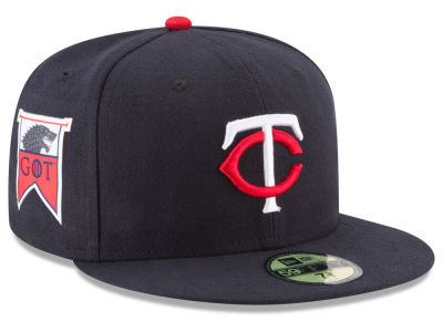 Minnesota Twins New Era MLB Game of Thrones 59FIFTY Cap