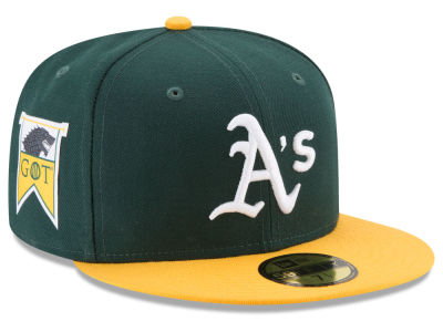 Oakland Athletics New Era MLB Game of Thrones 59FIFTY Cap