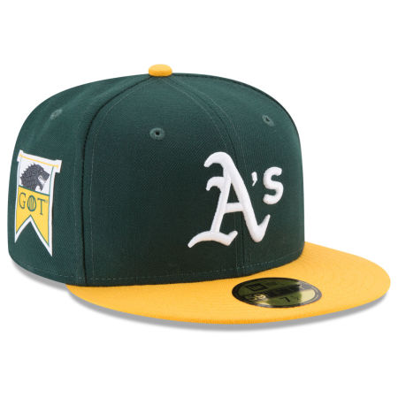Oakland Athletics New Era MLB Game Of Thrones 59FIFTY Cap