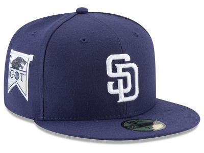 San Diego Padres New Era MLB Game of Thrones 59FIFTY Cap