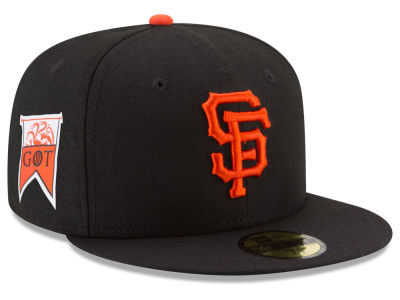 San Francisco Giants New Era MLB Game of Thrones 59FIFTY Cap