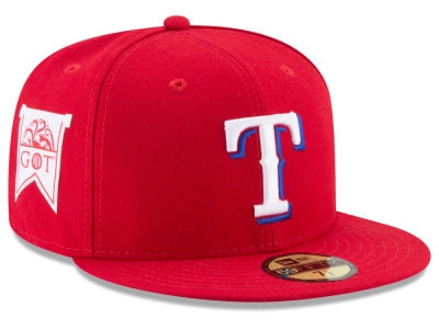 Texas Rangers New Era MLB Game of Thrones 59FIFTY Cap