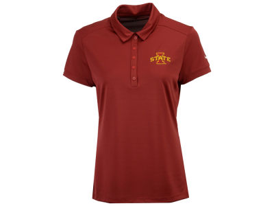 Iowa State Cyclones Nike Golf NCAA Women's Victory Solid Polo Shirt