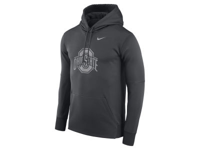 Ohio State Buckeyes Nike NCAA Men's Flash Logo Hooded Sweatshirt