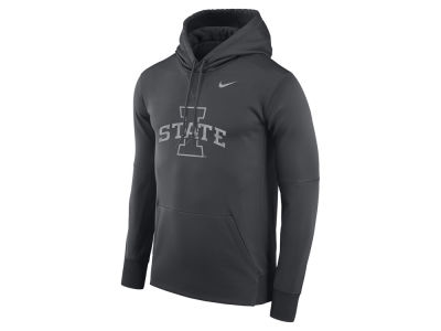 Iowa State Cyclones NCAA Men's Flash Logo Hooded Sweatshirt