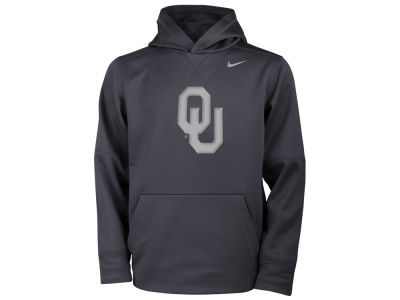 Oklahoma Sooners Nike NCAA Youth Flash Logo Hooded Sweatshirt