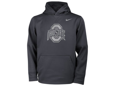 Ohio State Buckeyes Nike NCAA Youth Flash Logo Hooded Sweatshirt