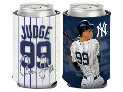 New York Yankees Aaron Judge Wincraft Can Coozie