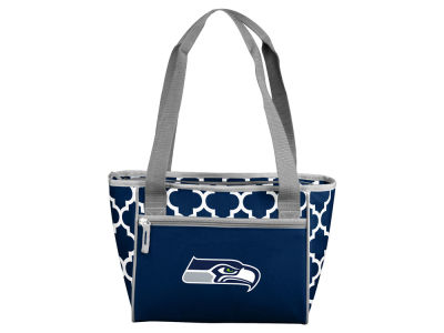 Seattle Seahawks Logo Brands 16 Can Cooler Tote