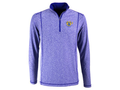 Golden State Warriors Antigua 2017 NBA Men's Final Multi Champs Tempo Quarter Zip Pullover