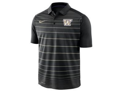 Washington Huskies Nike NCAA Men's Striped Polo
