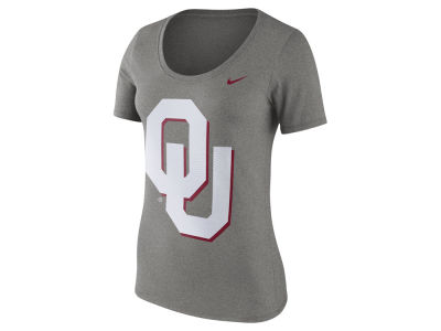 Oklahoma Sooners Nike NCAA Women's Dri-Blend Scoop T-Shirt