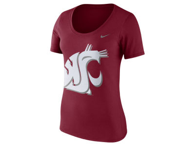 Washington State Cougars Nike NCAA Women's Dri-Blend Scoop T-Shirt