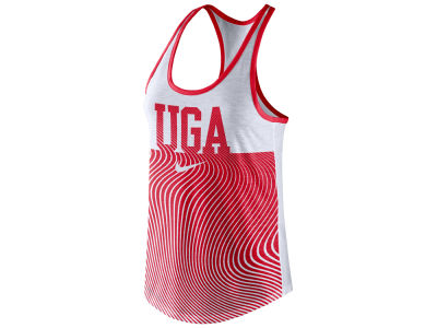 Georgia Bulldogs Nike NCAA Women's Dri-Blend Tank Top