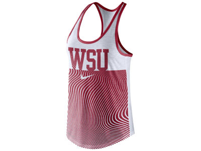 Washington State Cougars Nike NCAA Women's Dri-Blend Tank Top