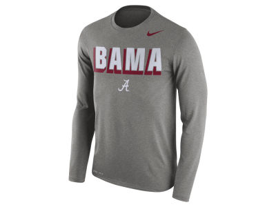 Alabama Crimson Tide Nike NCAA Men's Dri-Blend Long Sleeve T-Shirt