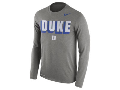 Duke Blue Devils Nike NCAA Men's Dri-Blend Long Sleeve T-Shirt