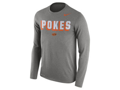 Oklahoma State Cowboys Nike NCAA Men's Dri-Blend Long Sleeve T-Shirt