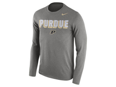 Purdue Boilermakers Nike NCAA Men's Dri-Blend Long Sleeve T-Shirt