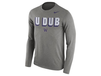 Washington Huskies Nike NCAA Men's Dri-Blend Long Sleeve T-Shirt