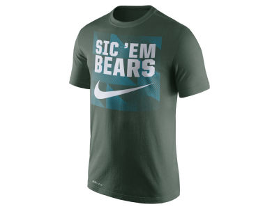 Baylor Bears Nike NCAA Men's Dri Fit Fluid Force Mantra T-Shirt