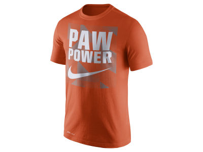 Clemson Tigers Nike NCAA Men's Dri Fit Fluid Force Mantra T-Shirt