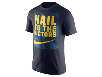 Michigan Wolverines Nike NCAA Men's Dri Fit Fluid Force Mantra T-Shirt