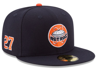 Houston Astros Jose Altuve New Era MLB Player Designed Collection 59FIFTY Cap