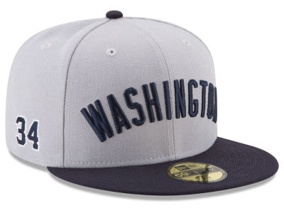 Washington Nationals Bryce Harper New Era MLB Player Designed Collection 59FIFTY Cap